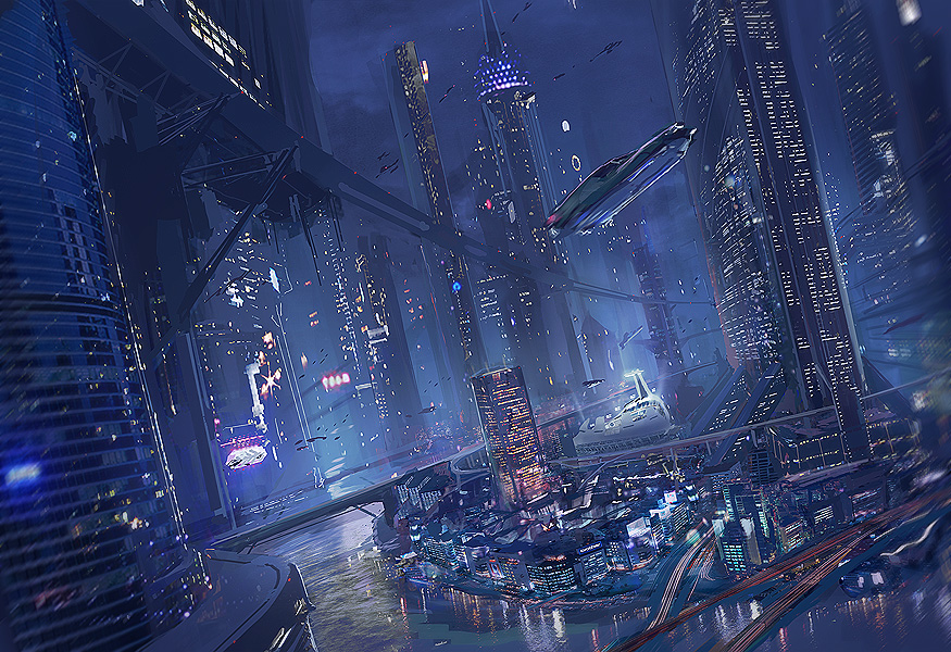 Future City Original by Fordiexr on DeviantArt