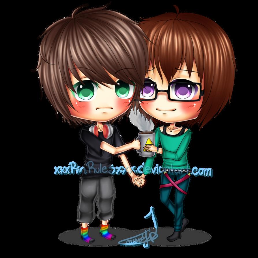 C: Chibi Couple Tyler and Brian by xxxRinRulesxxx on ...