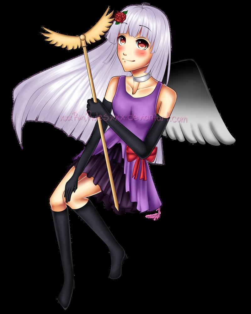 C: Miyoko-chii Full Body Commission 2 by xxxRinRulesxxx
