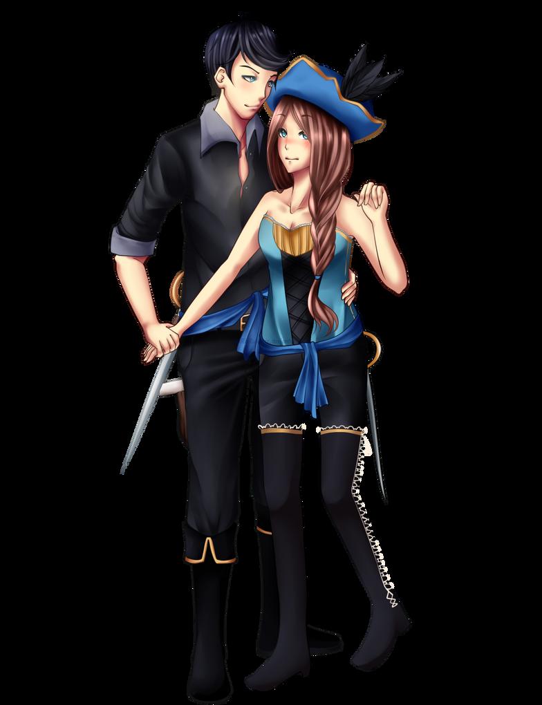 C: Couple Reaver x Rayla by xxxRinRulesxxx