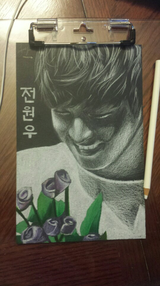 Wonwoo Portrait by xxxRinRulesxxx