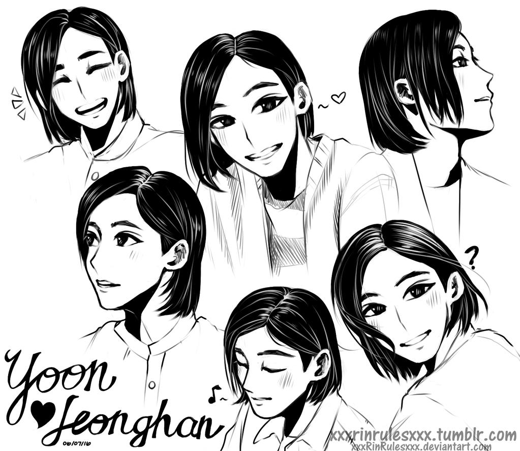 yoon jeonghan by rinspirit