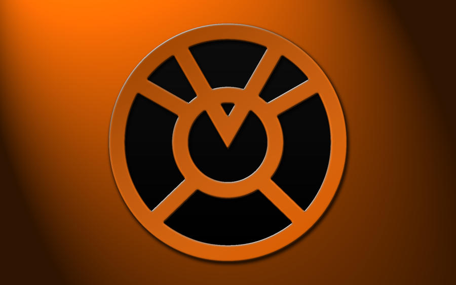 Orange Lantern by amesmonkey on DeviantArt