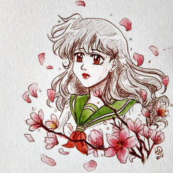 Kagome watercolor by LuciaLemos