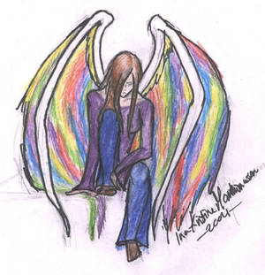Hippie Angel by Crowley