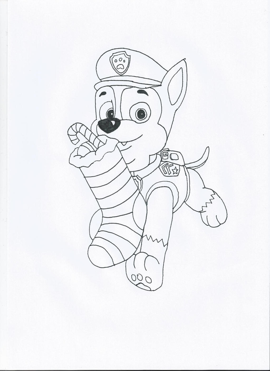 Paw Patrol Christmas Chase By Pawpatrolfan66 On Deviantart