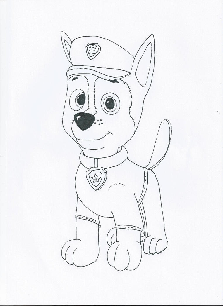 Paw Patrol Chase With T Shirt By Pawpatrolfan66 On Deviantart