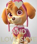 Keep calm and love skye