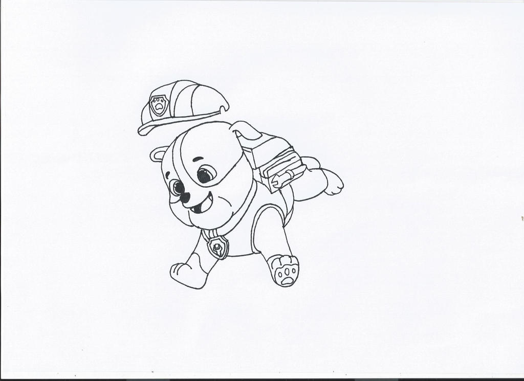 Paw Patrol Tundra Coloring Pages : Zuma from paw patrol coloring pages