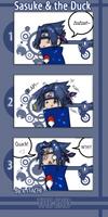 Sasuke and the Duck