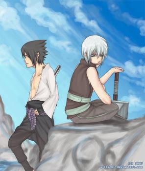 +Sasuke and Suigetsu+