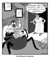 Web Of Deceit by RachelOrdwayArt