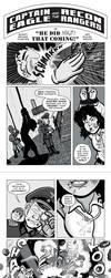 Captain Eagle comic PART 1 by RachelOrdwayArt