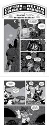Captain Eagle comic PART 2 by RachelOrdwayArt