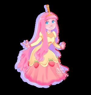 Princess bubblegum strawberries