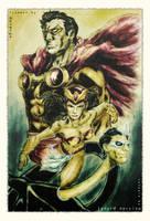 Daverge's Pinoy Superheroes