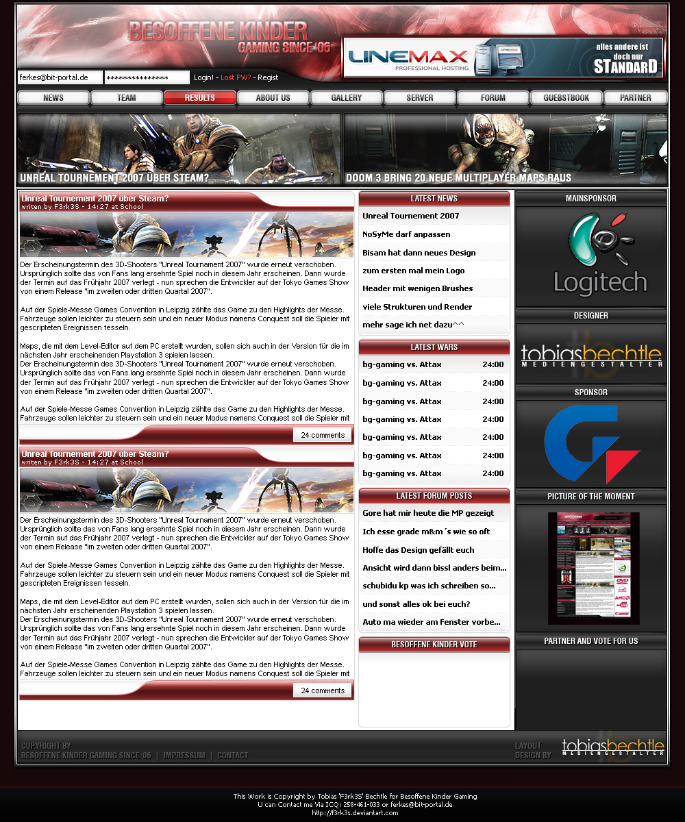 BK Gaming Clandesign