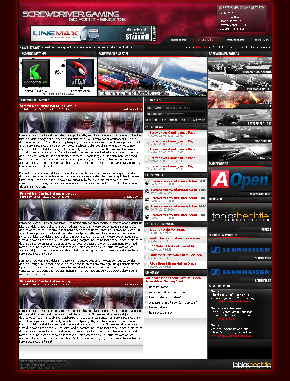 Screwdriver.Gaming Design