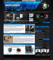 Ankum-Gamerz Screendesign by F3rk3S