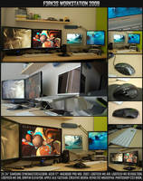 Workstation mid 2009 by F3rk3S