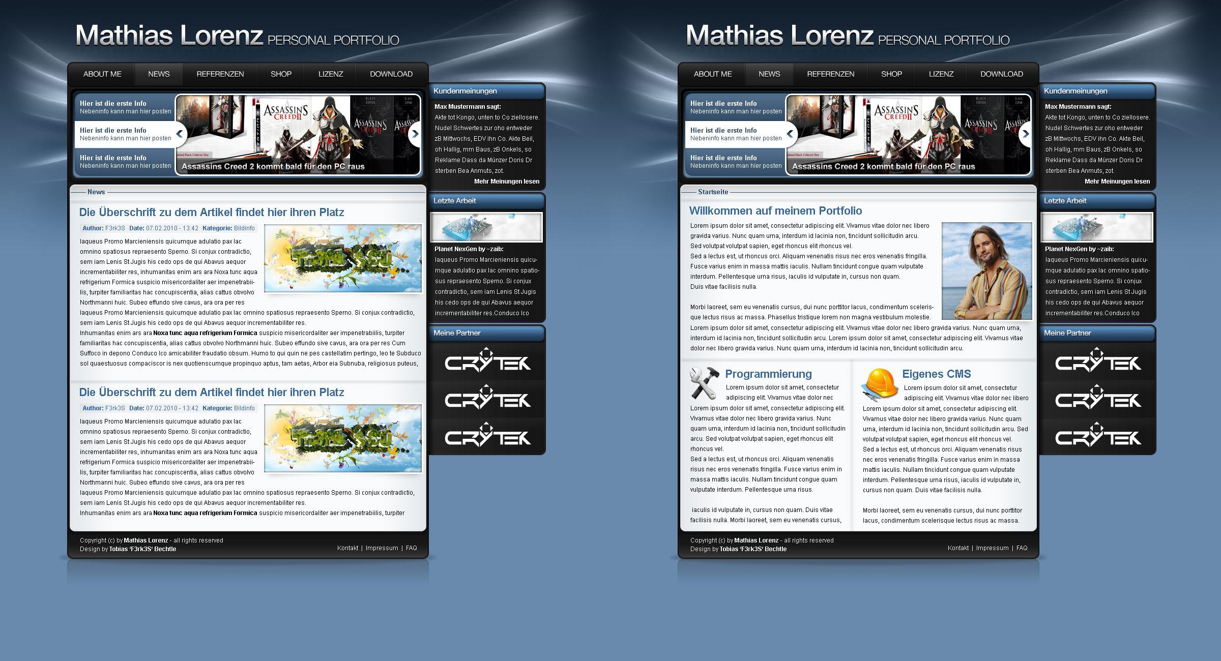 Mathias Lorenz - Portfolio