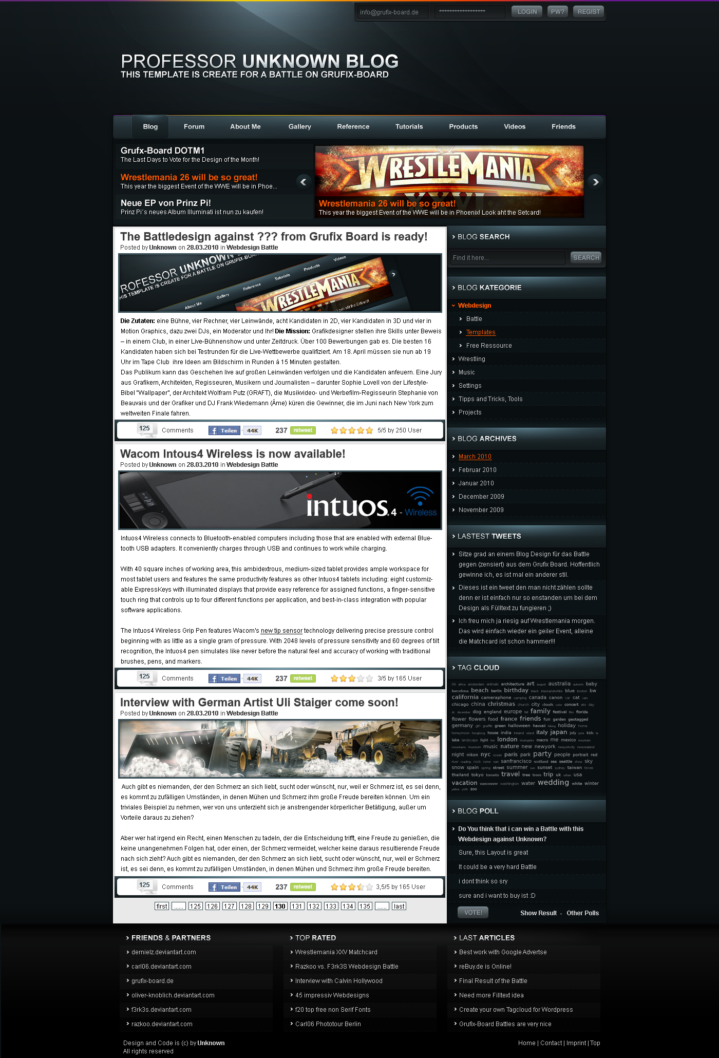 Blog Design 4 Sale