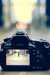 Nikon uses Canon Display
