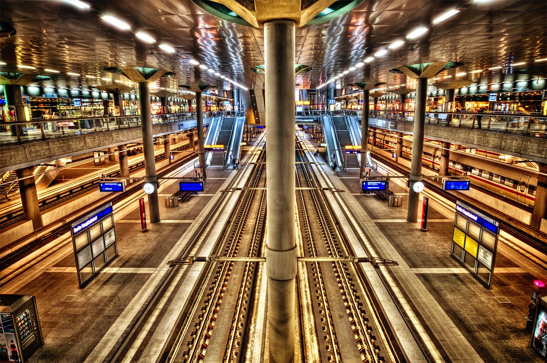 Berlin Hauptbahnhof HDR