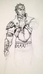 contrapposto Ganondorf Dragmire by DarkLordRinku