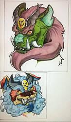 Foo Dog fighters! by DarkLordRinku