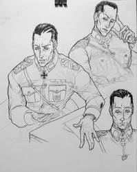 after the kill: interrogation sketches