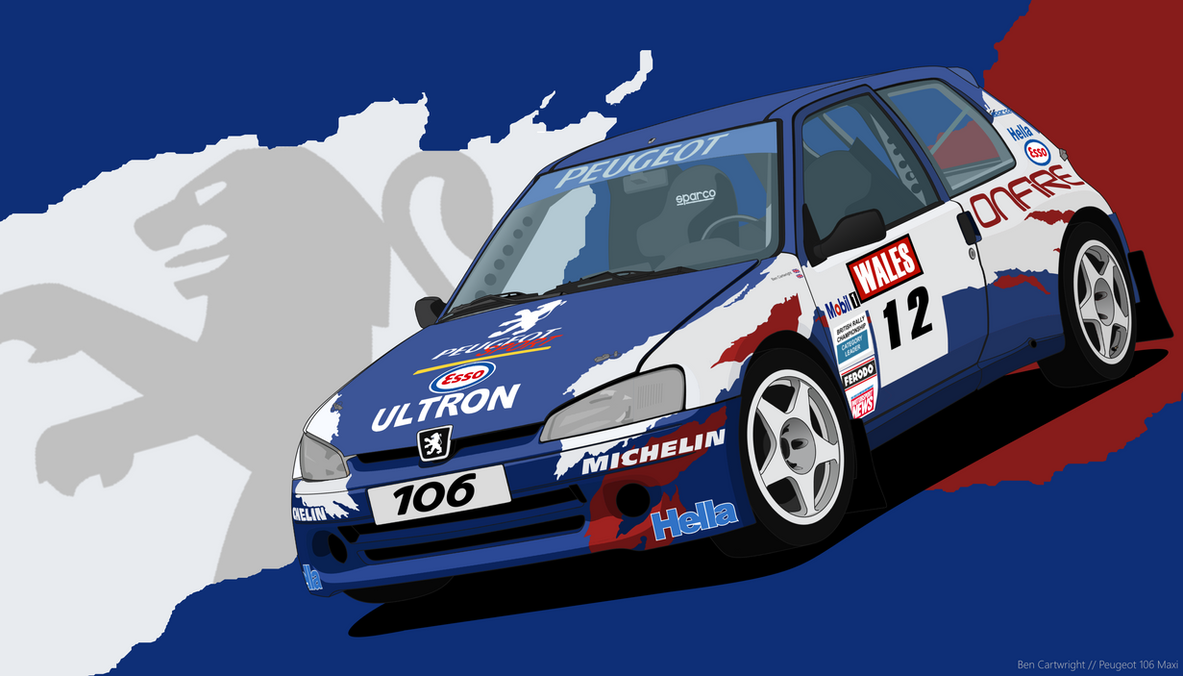 Peugeot 106 Maxi by Volkroen on DeviantArt