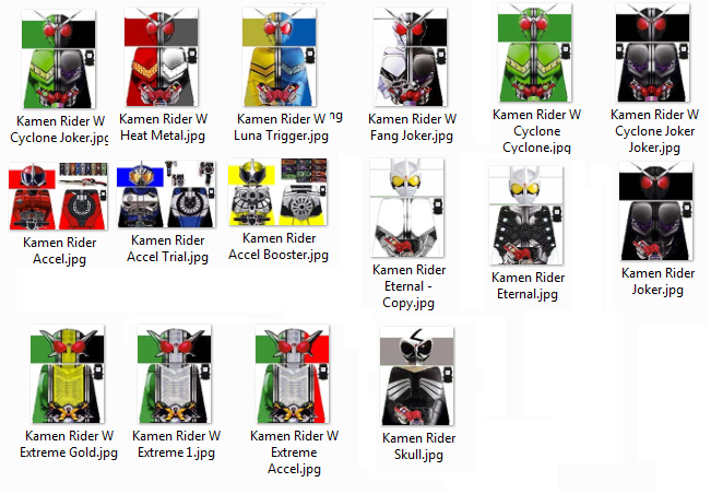 Kamen Rider W Lego Decals By Digger318 On Deviantart