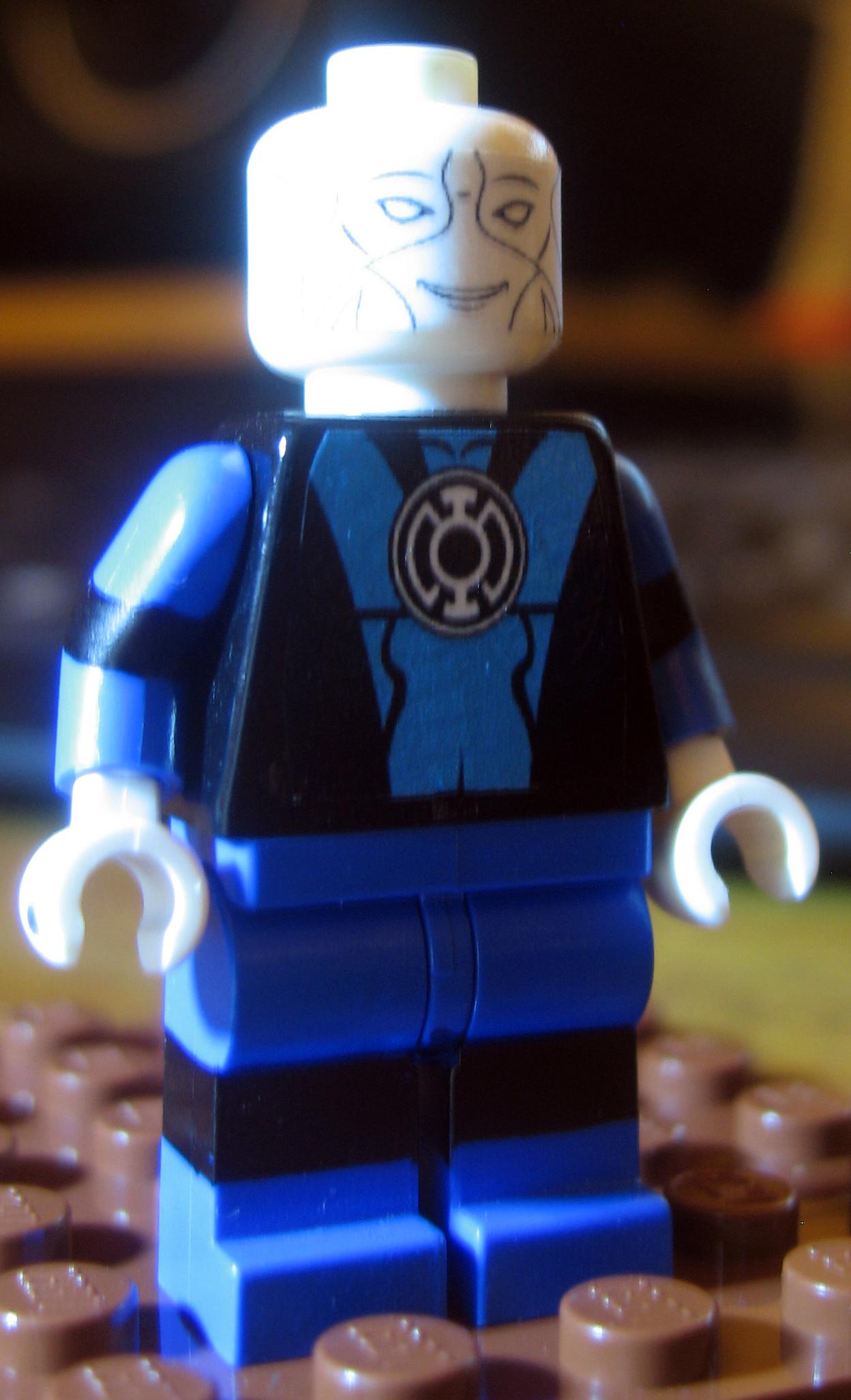 Custom LEGO DC Saint Walker Blue Lantern green by ...