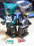 LEGO Kamen Rider Punch  Kick Hopper from KABUTO