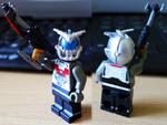 Custom LEGO KAMEN RIDER KAbuto MASKED FORM Put on