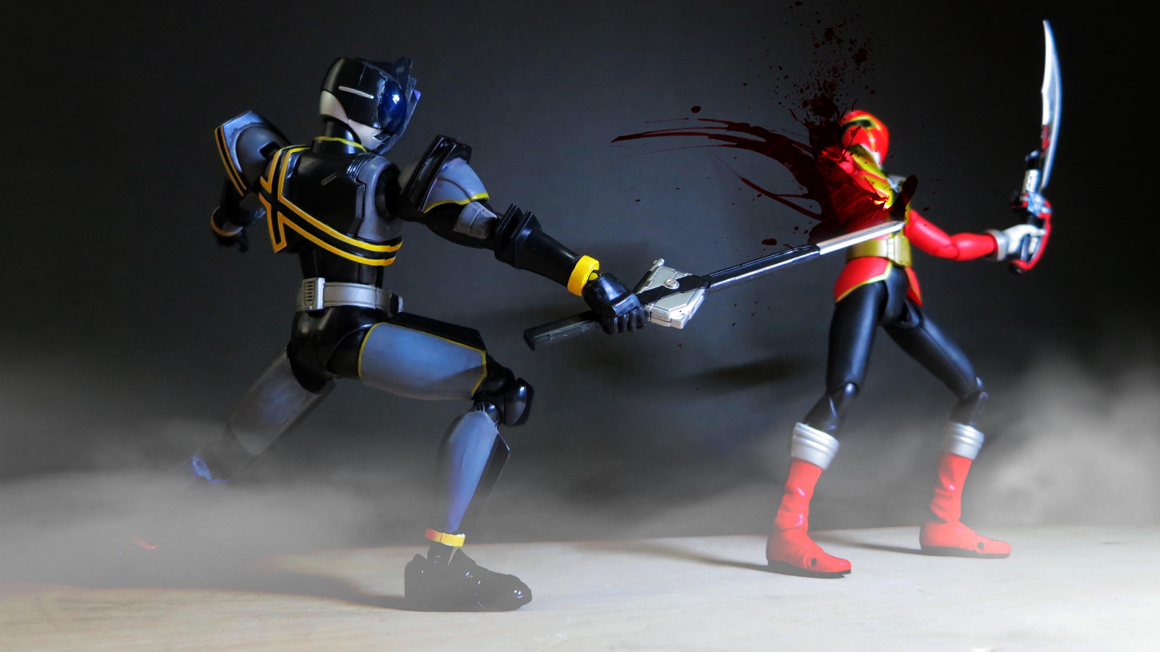 Kamen Rider Dark Decade vs Captain Marvelous 04 by ...