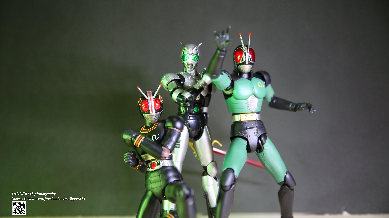 S H  Figuarts Kamen Rider BLACK RX 2 0 SHADOWMOON by