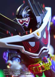 SH Figuarts Kamen Rider Genm God Maximum Gamer Lev by Digger318