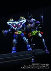 SH Figuarts Kamen Rider Genm God Maximum G by Digger318