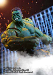 SH Figuarts HULK Avengers Infinity War Toy by Digger318