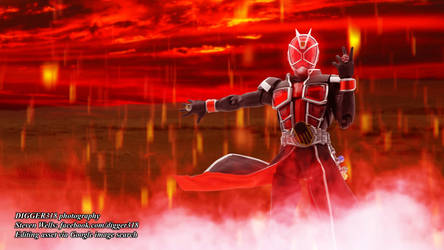SH Figuarts Kamen Rider Wizard Flame Style Shinkoc by Digger318