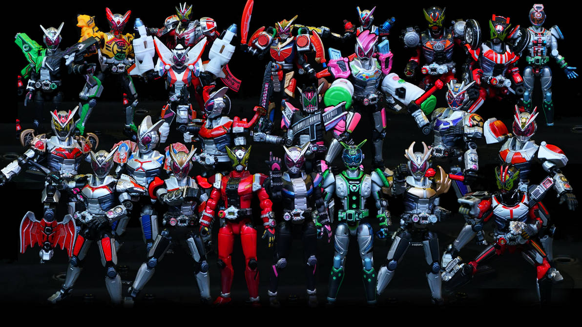 Kamen Rider Zi-O So-Do Ride Set All Heisei Painted by Digger318