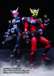 S. H. Figuarts Kamen Rider Zi-O and Geiz by Digger318