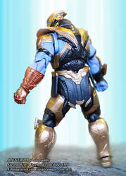 S.H. Figuarts Thanos Avengers Endgame Review by Digger318