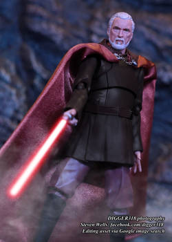 S. H. Figuarts Count Dooku Star Wars Toy Review 4K