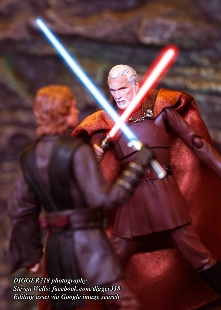 S. H. Figuarts Count Dooku Star Wars Toy Review 4K by Digger318