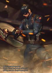 S. H. Figuarts Captain America Avengers Endgame