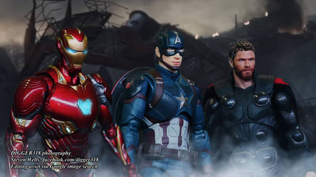 SHF Captain America Avengers Endgame Photoshop by Digger318