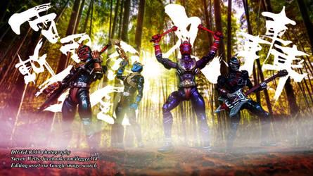 S H Figuarts Kamen Rider Hibiki Riders Photoshop